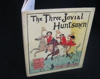 Randolph Caldecott The three jovial huntsmen 1950