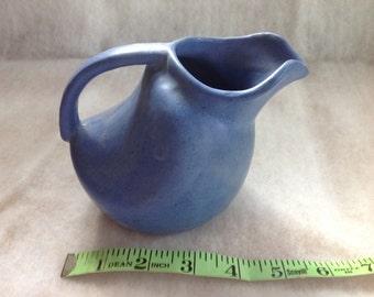 REDUCD: Blue vintage Niloak pitcher