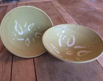 Handmade Oatmeal 8 inch bowl