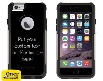 Custom iPhone Otterbox Commuter Series Case iPhone 5/5s/SE, 6/6s, 6 Plus/6s Plus, 7, 7 Plus Personalize Phone Case Text and/or Image 1999