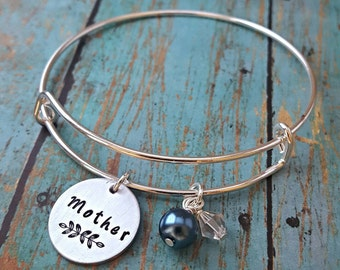 Mother's Bracelet - Mother - Gift for Mother - Gift for Mom - New Mother Gift - Mom - Mommy - Mom Necklace - Mother's Day - Women's Jewelry