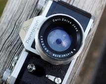 Pentacon Camera // Zeiss Ikon VEB // Film Tested // Working