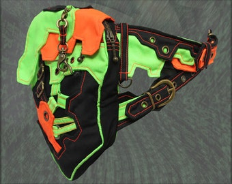 Matrix Belt - cyberpunk pocket hip bag