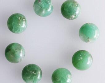 11MM Round Shape, Chrysoprase, Wholesale Lot, Chrysoprase Lot, Lot, Wholesale Gems, Jewelry Gemstone, Loose Gemstone, Calibrated, AG-239