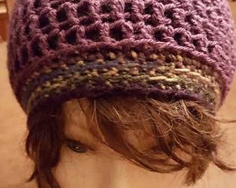 Girls Slouchy Hat - Size Small