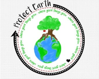 Protect Earth - Tree Print *Instant Download*