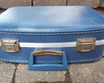 Vintage Luggage Piece in Blue