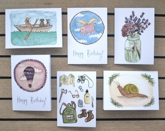 Mix Pack Greeting Card (Pack of 6)