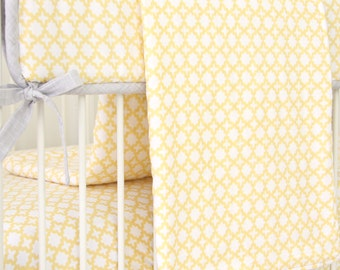 Yellow and Gray Baby Blanket | Ryan's Yellow and Gray Collection