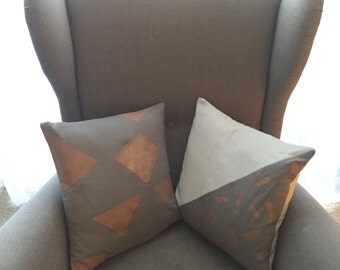 16 Inch Pillow Covers-Grey Collection