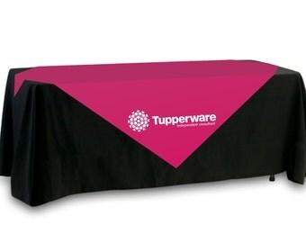 Tupperware Table Overlay