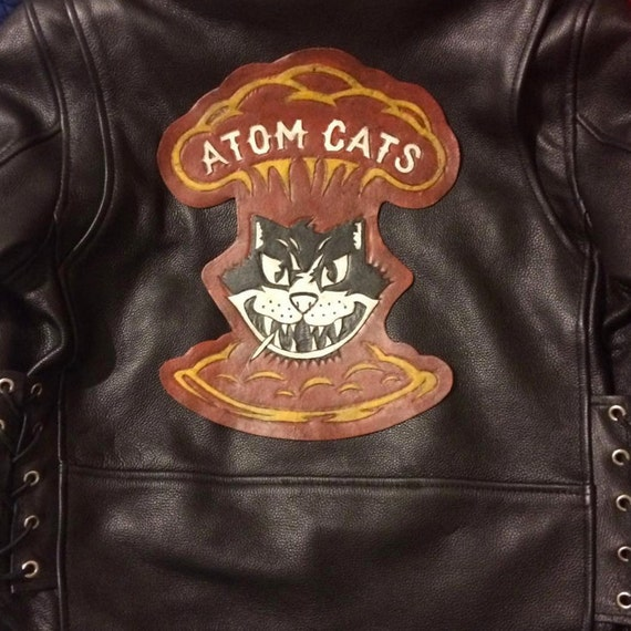 Atom Cats Back Patch