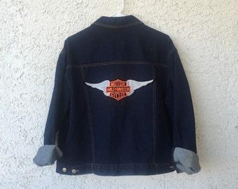Vintage Harley Davidson Denim