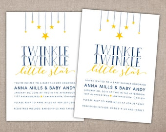 Baby Shower - Printable Invitation