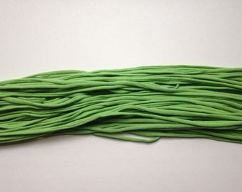 T-shirt Yarn, Lime Green from Upcycled cotton T-shirt