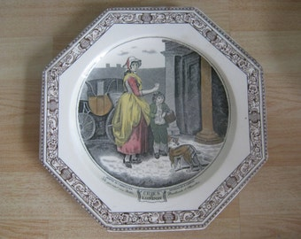 "Adams Cries of London ""Do you want any Matches""Decorative Plate"