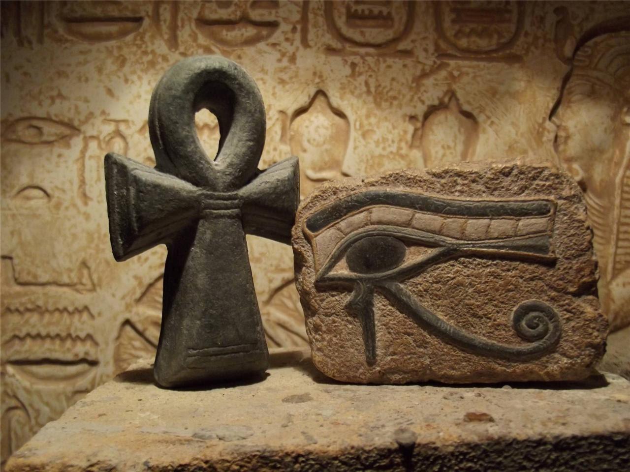 Ancient Ankh Egyptian Symbol of Life Wall Sculpture ...  |Ankh Eygpt Art