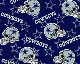 Cowboy Fleece Fabric Etsy