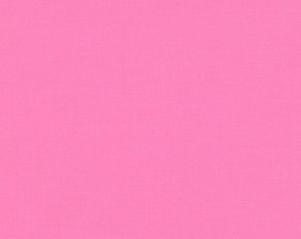 Fabric - Robert Kaufman- Kona solids - Candy pink - cotton