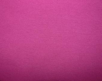 Fabric - cotton sweatshirt jersey fabric - magenta