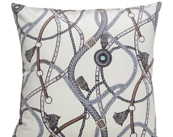 """Interior Illusions Ivory Couture Pillow - 16"""" Wide"""