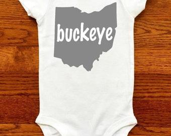 Ohio State Buckeyes Baby / Ohio State Shirt / Ohio State Baby Girl / Ohio State Baby Boy /OSU Buckeyes /