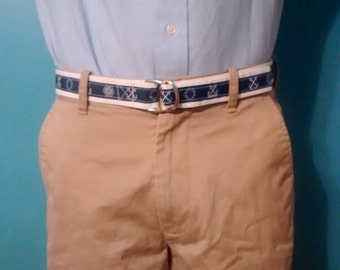 Nautical Sailcloth Men's Belt