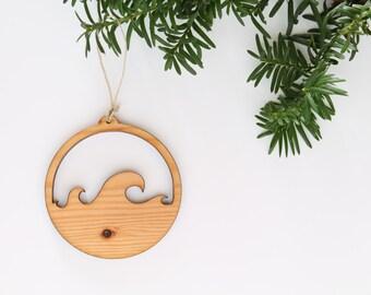 Wave Ornament