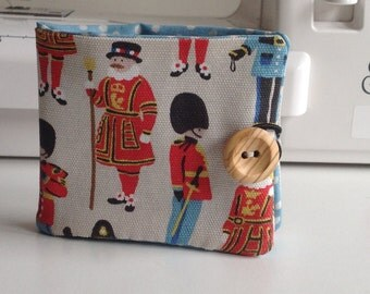 Handmade Fabric Wallet - Cath Kidston - Guards and Friends