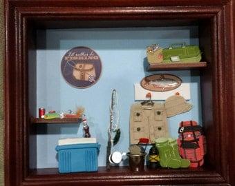 Miniature Fishing Box
