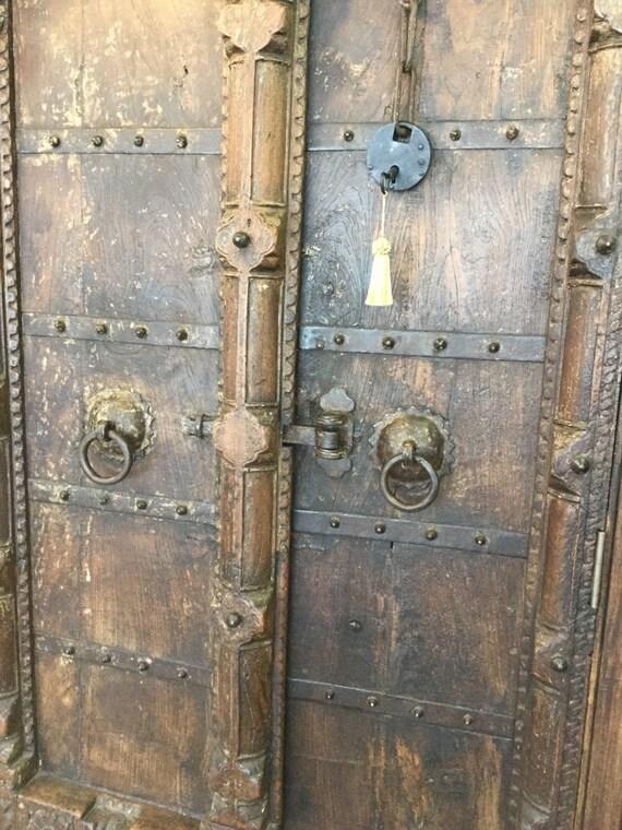 & travelingwilder - Antique Moorish Doors - Armoire - Dresser