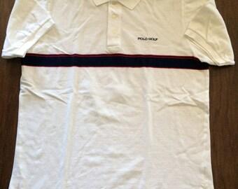 Vintage Polo RL Golf striped polo shirt