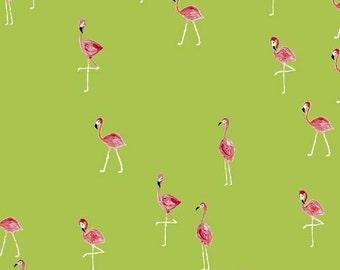 Flamingos - Flamingo Lime - Iza Pearl Design - Windham (42278-4)