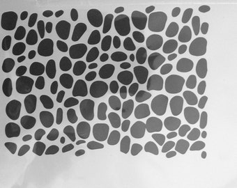Stencil pattern (number 4.4.) A5