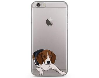 Beagles iPhone 6s case, Custom illustrated dog iPhone Case, Hand Drawn dog iPhone Case, iPhone 7 case, iPhone 7 plus case