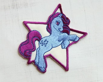SALES, 7.8 x 8 cm, My Little Pony Rarity Iron On Patch (P-215)