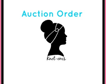 Auction Order - Heather J