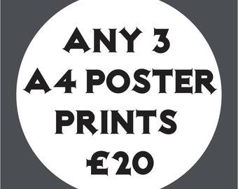 X3 A4 Print Offer