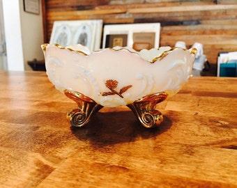 1898 Northwood Glass Company Custard Glass Louis XV Berry Bowls