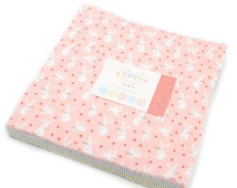 Sweet Baby Flannels Layer Cake by Abi Hall for Moda Fabrics. 35280LCF
