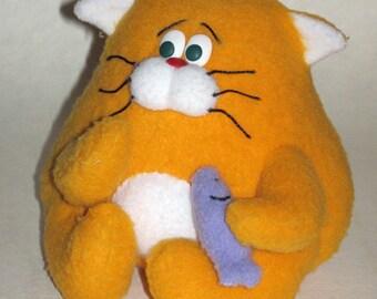 Toy Cat fisherman