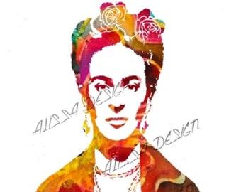 Frida KAHLO art poster HUGE SIZE
