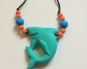 Chompy Shark Pendant-Small
