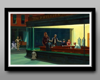 Star Wars Inspired: The Wookiee's Coffee - Parody Art#3 - Home Decor