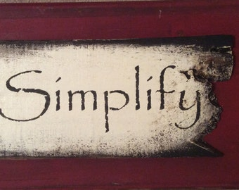 Simplify on Pallet Wood