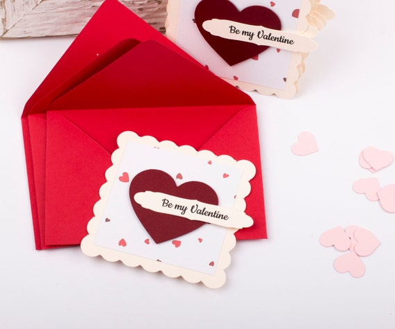 Kids Valentines Cards, Valentines School Pack set, Mini Valentine's Day Cards, Set of 12, DUE ORDER DATE: 9th of February