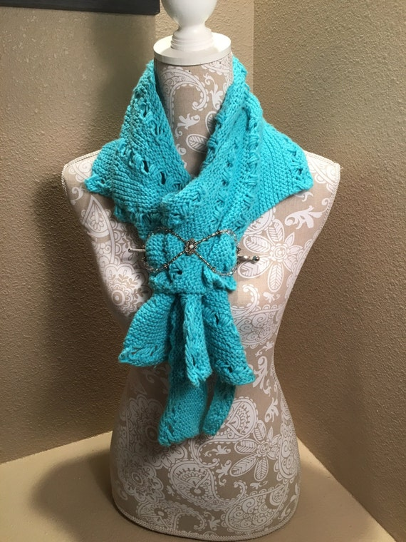 Loom Knitting Questions : Manitou scarf a loom knit pattern from