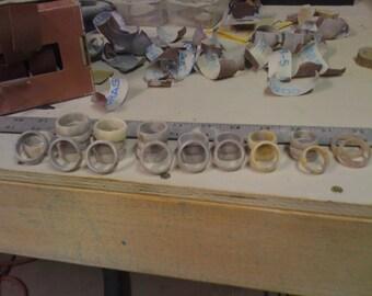 Deer Antler Ring, Wholesale lot of 40 rings