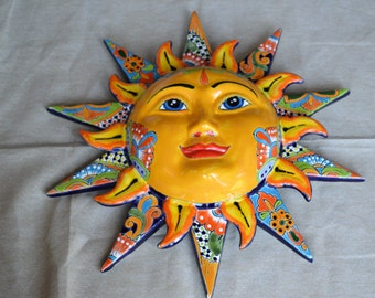 BIG  Talavera Sun with rays
