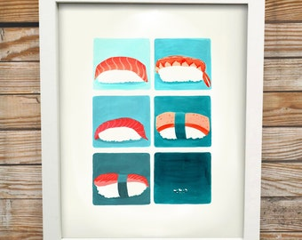 Jiro Dreams of Sushi | Digital Print